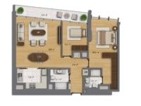 Floor Plan - Bomonti Centre - EN125