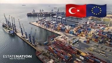تركيا تحقق فائض تجارة مع الاتحاد الأوروبي خلال 2019
