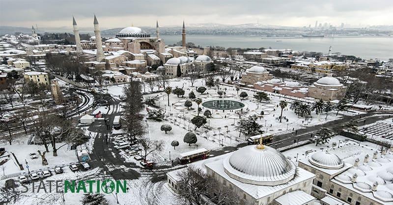 شراء عقار في اسطنبول خلال فترة الشتاء