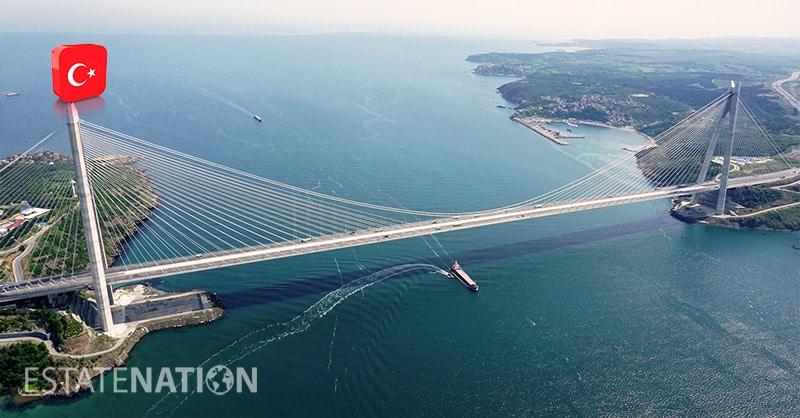 البنية التحتية في تركيا
